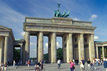 Sehenswürdigkeiten Berlin Brandenburger Tor Wahrzeichen der Stadt