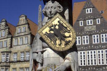 Ausflugsziele in Bremen Wahrzeichen Bremer Roland