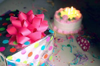 Danksagung Geburtstag gratis Muster