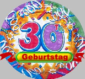 Grußtexte 30 Geburtstag Wunsch