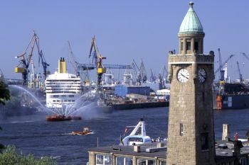 Ausflugsziele in Hamburg Hafen Turm