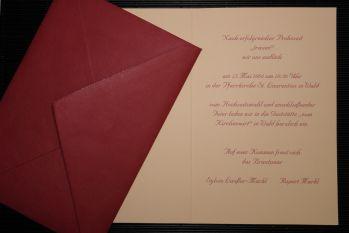 Einladung Hochzeit Mustertext