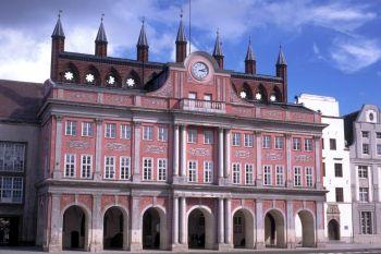 Sehenswürdigkeiten in Mecklenburg Vorpommern Rathaus in Rostock