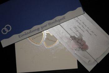 Mustereinladung zur Hochzeit