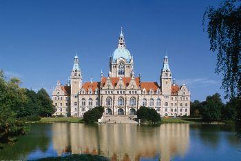 Sehenswürdigkeiten Niedersachsen neues Rathaus in Hannover
