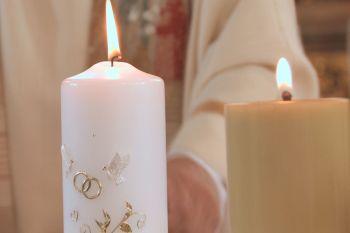 Sprüche Hochzeit Kerzen Glückwunsch