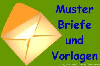 Geschäftsbrief DIN 5008 Vorlagen