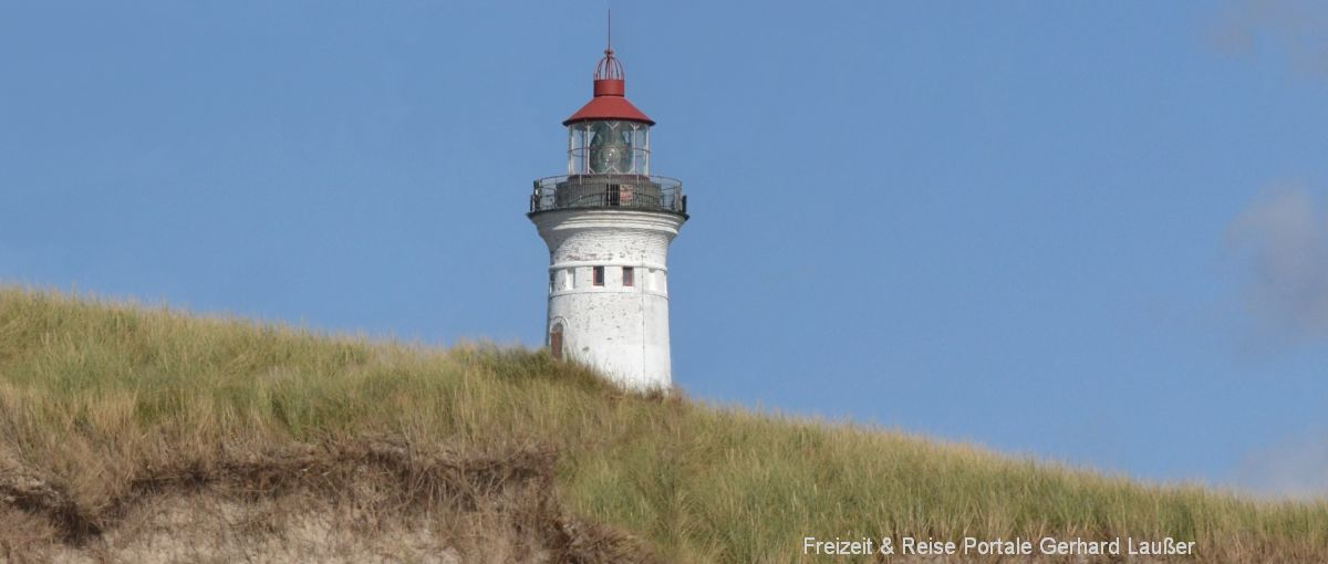 Leuchtturm Sehenswürdigkeiten in Blavand Ausflugsziele in Dänemark